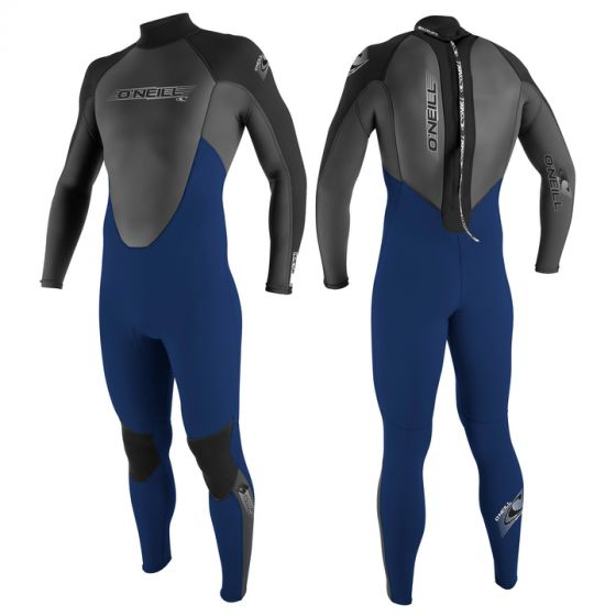 O'Neill Reactor 3/2 Mens Summer Full Wetsuit 2017 - Blue