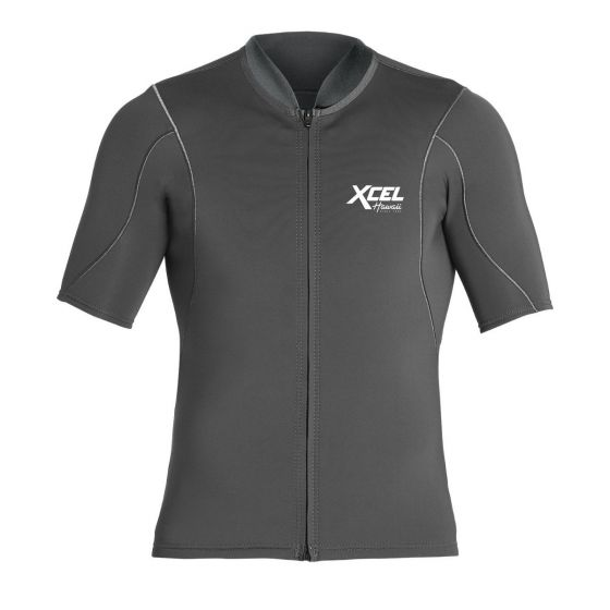 Xcel Axis Short Sleeve 1/0.5mm Wetsuit Jacket - Graphite