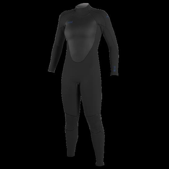 O'Neill Epic 3/2mm Back Zip Womens Wetsuit 2021 - Black