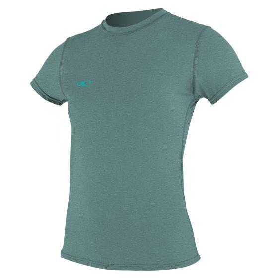 O'Neill Hybrid Short Sleeved Sun T Shirt 2019 - Eucalyptus