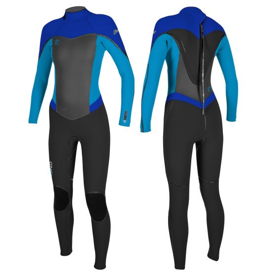 O'Neill Womens Flair 5/4mm Back Zip Wetsuit 2018
