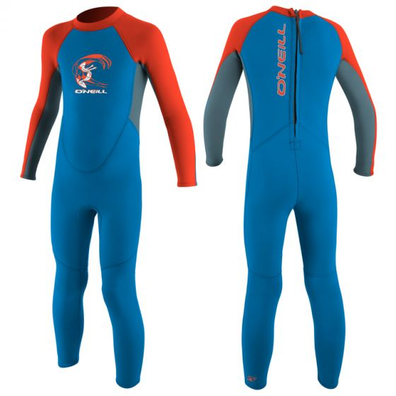 O'Neill Toddlers 2mm Reactor Kids Full Wetsuit 2017