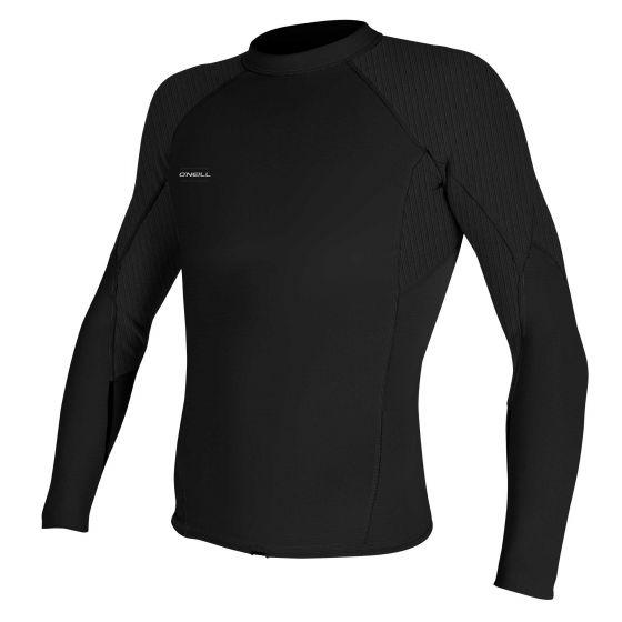 O'Neill Hyperfreak 1.5mm Mens Long Sleeve Wetsuit Top 2021 - Black