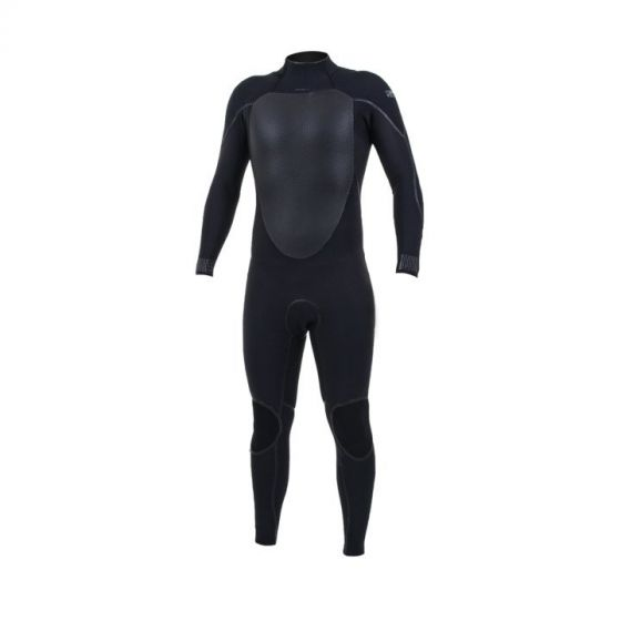 O'Neill Psycho Tech 4/3+mm Back Zip Wetsuit 2020 in Black