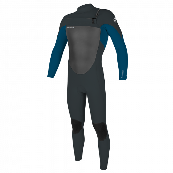 O'Neill Epic 4/3mm Chest Zip Wetsuit - Gunmetal
