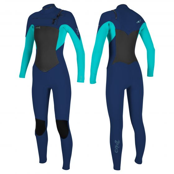 Women's epic 5/4mm chest zip wetsuit