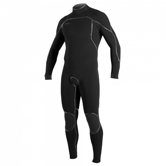 O'Neill Psycho One 4/3mm Back Zip Wetsuit 2021 - Black
