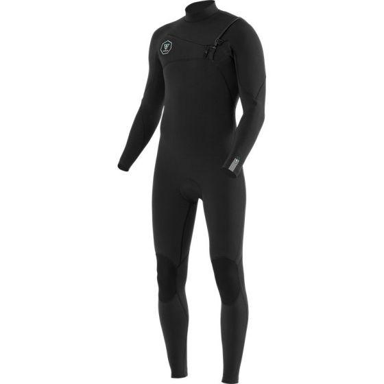 Vissla 7 Seas 5/4mm Full CZ Wetsuit Black/ Fade