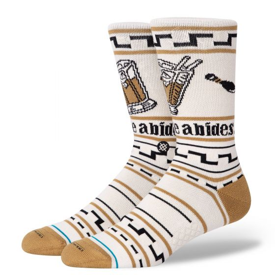 Stance The Dude Big Lebowski Socks - Tan