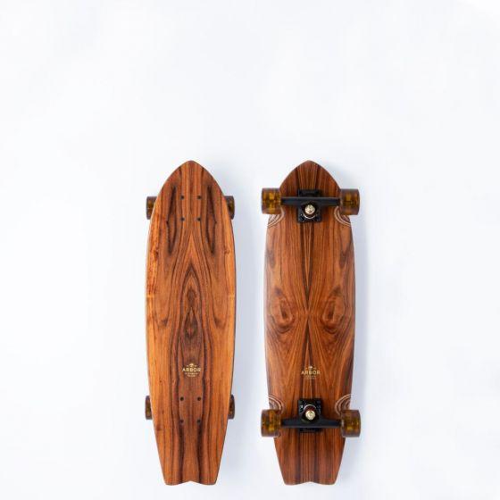 "Arbor Cruiser 30.5"" Complete Skateboard - Flagship Sizzler"