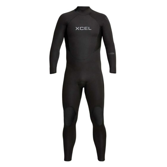 Xcel Axis 3/2mm Back Zip Thermo Lite Wetsuit 2021 - Black