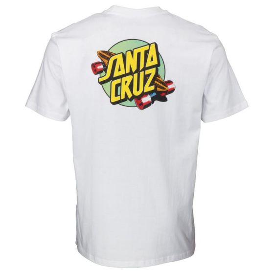 Santa Cruz 'Summer of '76' T-Shirt - 'White'