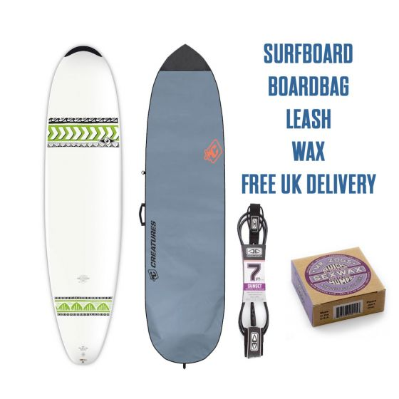 Bic 7'6 Mini Nose Rider 2018 Surfboard Package
