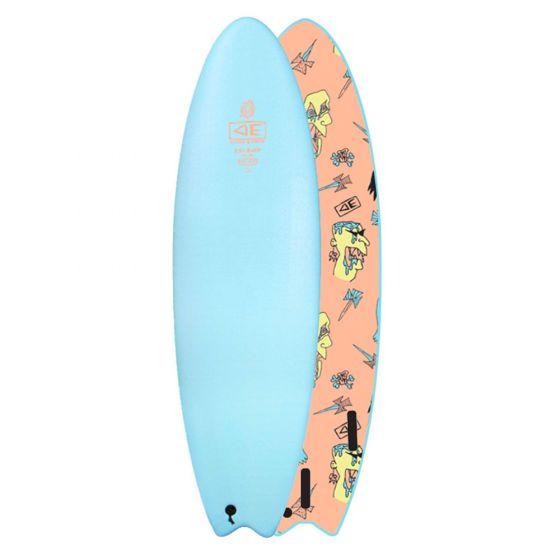 Ocean & Earth 7ft Ezi Rider Brains Foam Surfboard - Blue