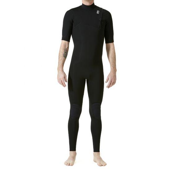 C-Skins Session 2:2mm Mens Chest Zip Short Arm Wetsuit