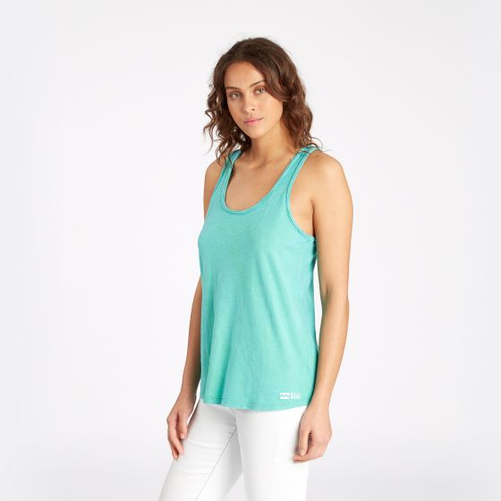 Billabong Essentials Tank Top - Island Green