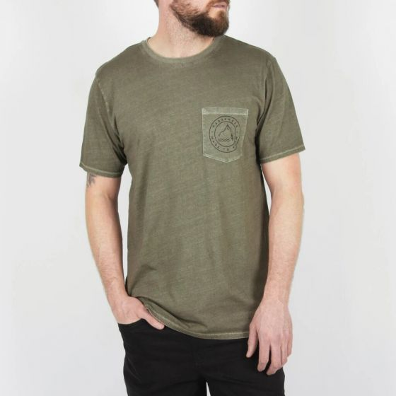 Passenger Canopy Mens T-Shirt green full