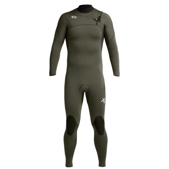 Xcel Mens New 2020 Summer Comp 3/2mm Wetsuit - Dark Forest