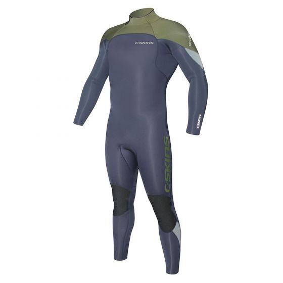 C-Skins Re-Wired Back Zip 5/4 Mens Winter Wetsuit - 2017