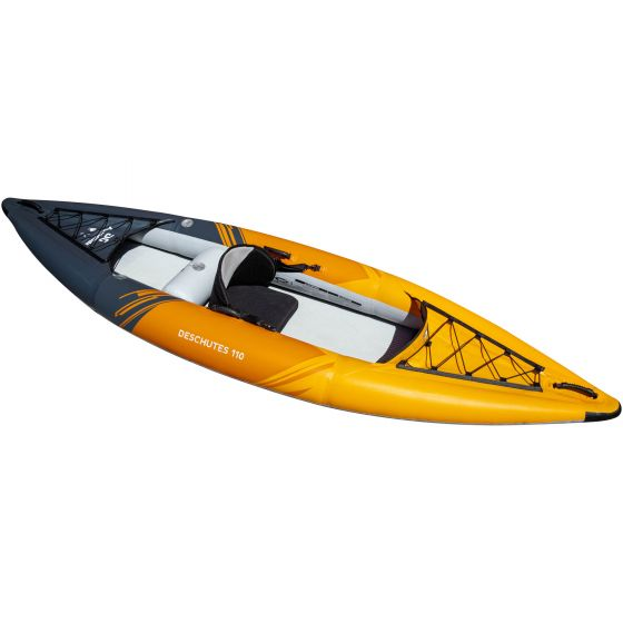 Aquaglide Deschutes 110 Inflatable Kayak - 1 Person side