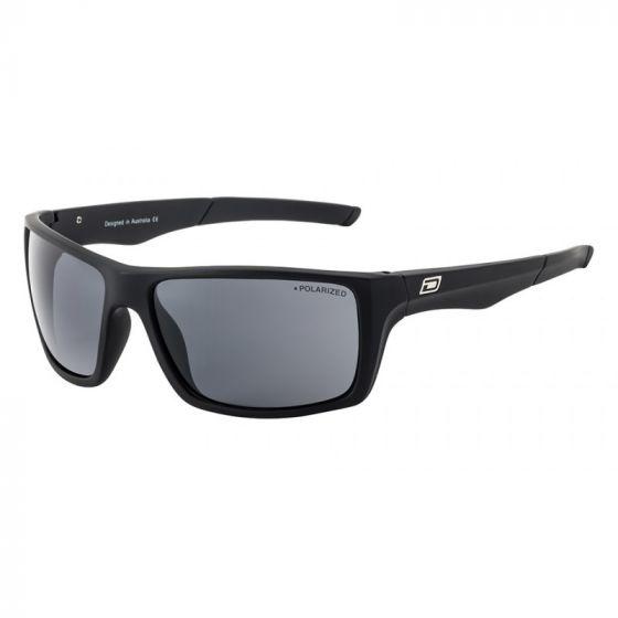 Dirty Dog Primp Sunglasses - Black/Grey Polarised