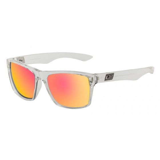 Dirty Dog Vendetta Sunglasses - Crystal / Red