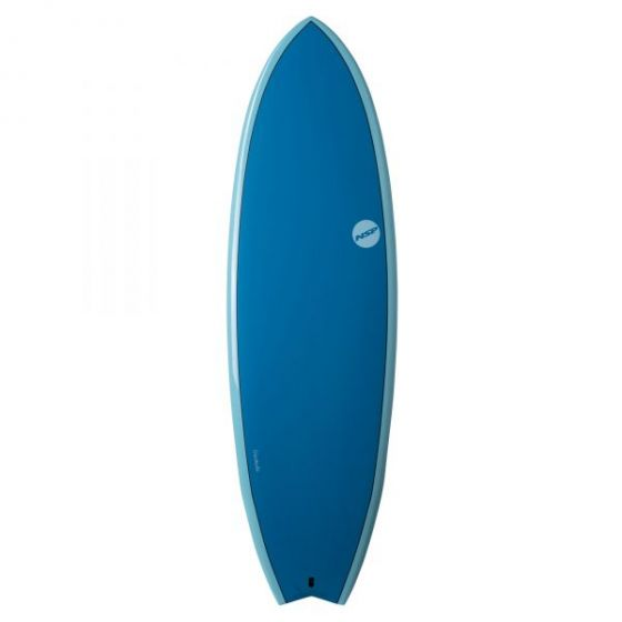 NSP Elements Performance Fish 7'2  Surfboard II Ocean Blue