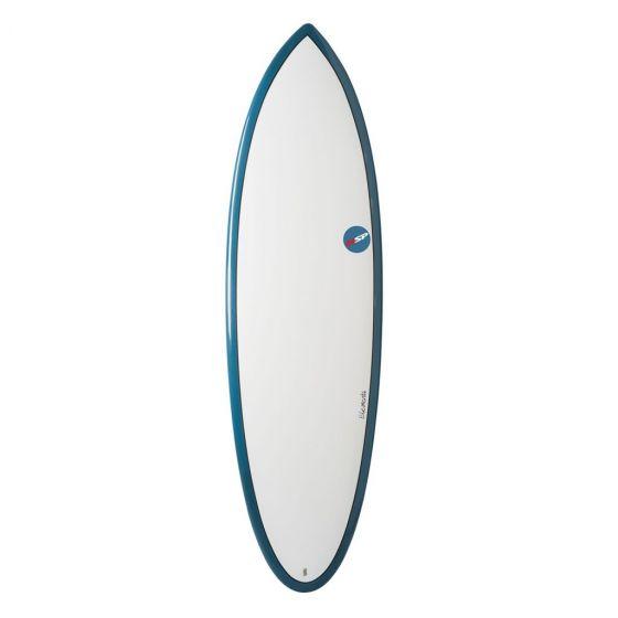 NSP 5ft 6 Elements Hybrid Shortboard - Blue