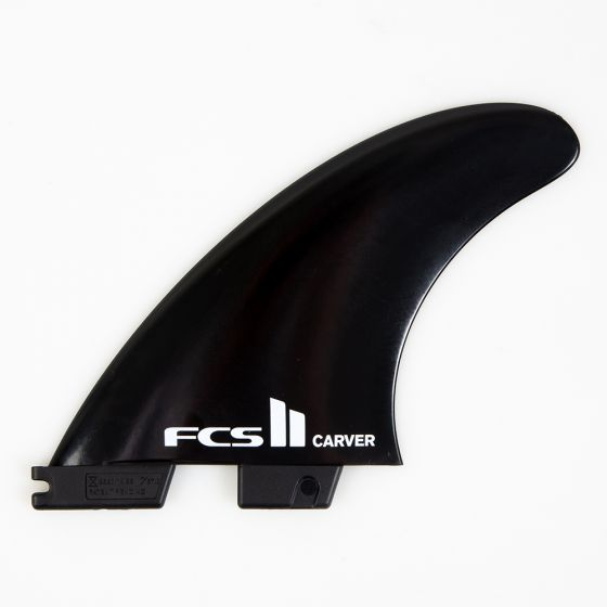 FCS II Carver Glass Flex Tri Fin Set