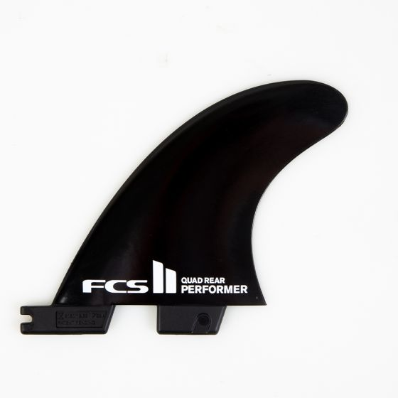 FCS II Performer Glass Flex Rear Quad Fin Set - Medium