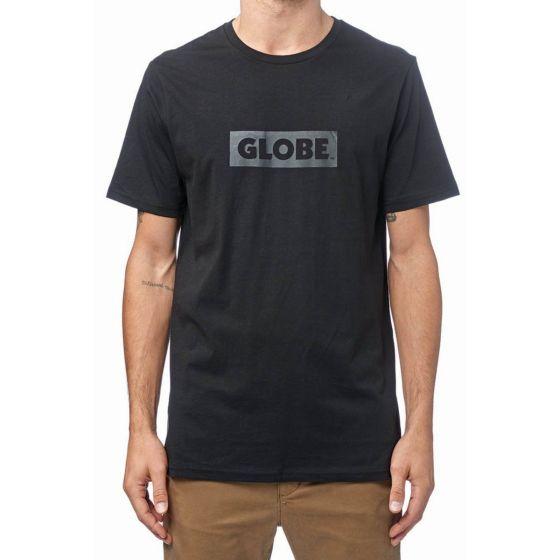 Globe Box Mens T-Shirt in Black