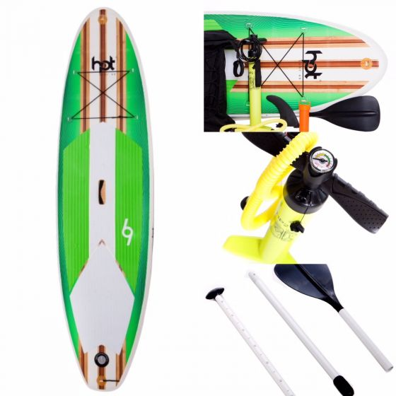 Hot Surf 69 10ft 2 The Bug Inflatable Sup Package 2019