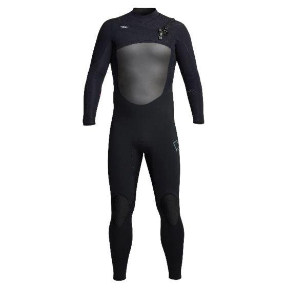 Xcel Infiniti 5/4mm Chest Zip Wetsuit 2021 - Black