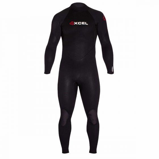Xcel 3/2mm Icon X Mens Summer Wetsuit - Black