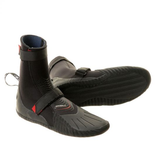 O'Neill Heat 5mm Round Toe Wetsuit Boots 2019