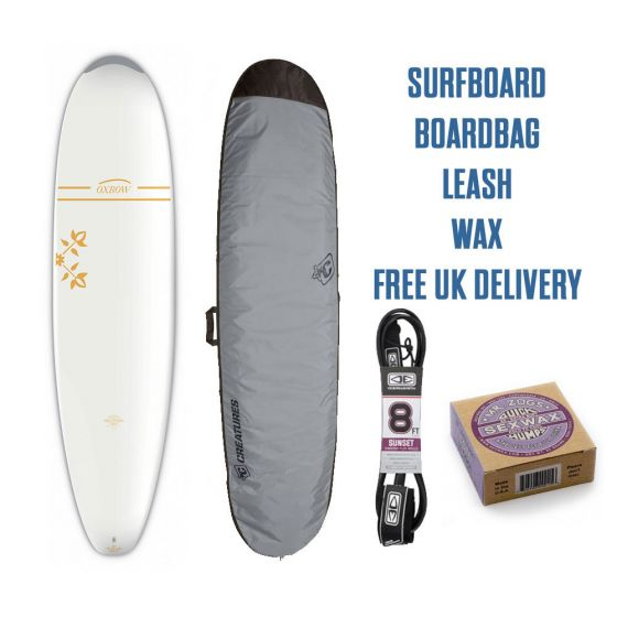 Oxbow 7ft 6 surfboard package 2020