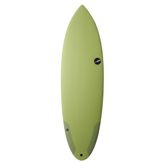 NSP 5'9 Protech Hybrid Performance Surfboard I Lime