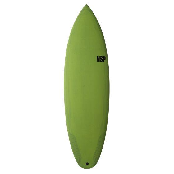 NSP 6ft 0 Protech Tinder-D8 Surfboard - Green