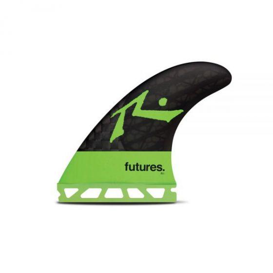 Futures Rusty 3.0 Blackstix Tri Surfboard Fins - (Large)