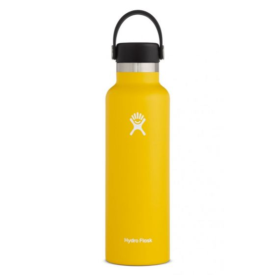 Hydro Flask Bottle - 21oz Flex Cap with Standard Mouth - Sunflower