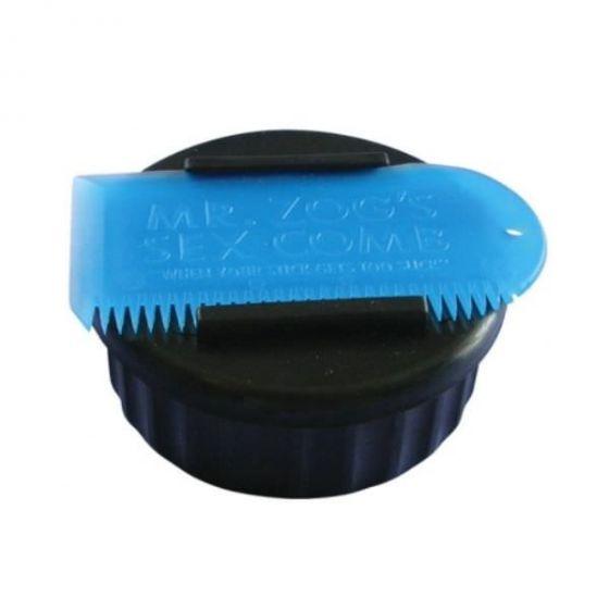 Sex Wax Pot And Comb - Black Pot and Blue Comb