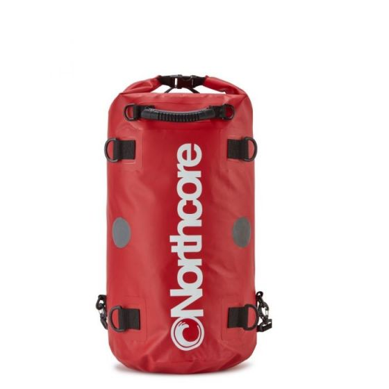 Northcore Dry Bag 30L Backpack 2021 - Red - Front