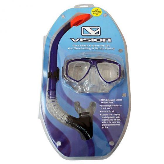 Vision Pro Silicone Snorkel Combo Set