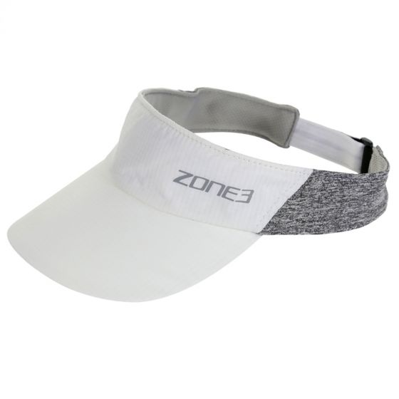 Zone 3 Lightweight Race Visor for Training and Racing - White