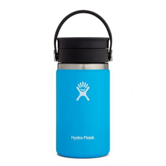Hydro Flask 12oz Wide Mouth Coffee w/Flex Sip Lid Bottle in Pacific