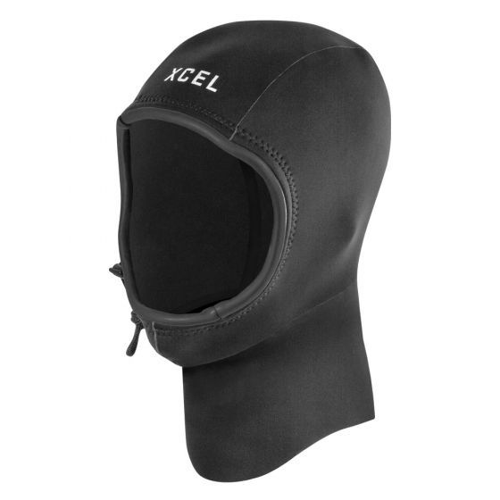 Xcel Axis 2mm Wetsuit Hood 2020 - Black - Front