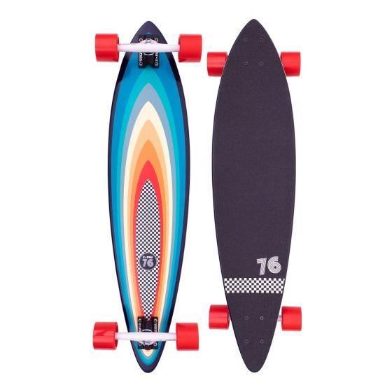 "Z-Flex Surf-A-Gogo Pintail 38"" Skateboard - Multi"