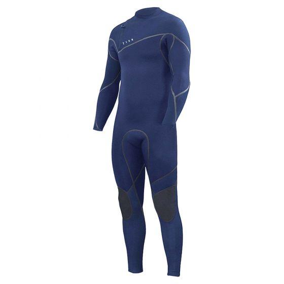Zion Yeti Zipperless 4/3mm Mens Wetsuit - Midnight Blue