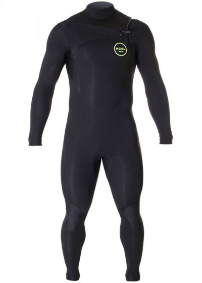 Xcel Mens Axis Comp 3/2mm Summer Wetsuit 2017 - Black
