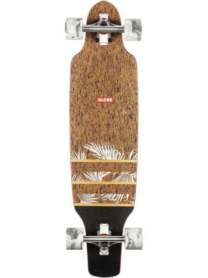 Globe Spearpoint Mini 33.5 Inch Complete Skateboard - Cork/Agave